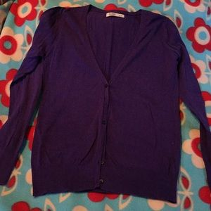 Old Navy purple cardigan